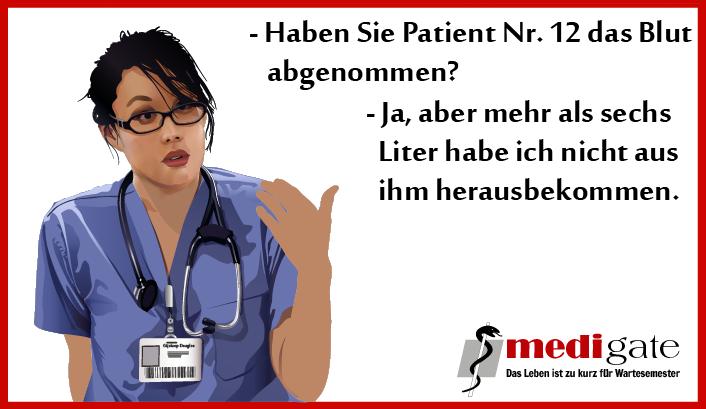 Blut Blutabnahme Ärztewitz Arztwitz