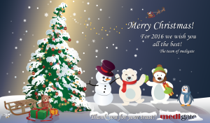 Christmas card 2016 Medigate ENG facebook