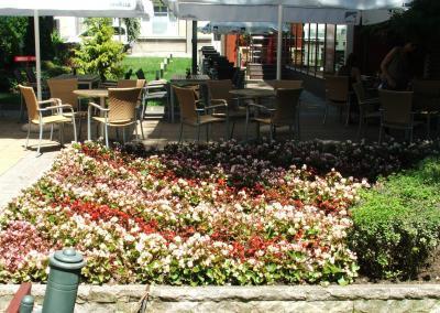 Garten der Med Uni Varna