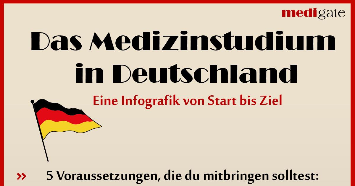 infografik medizinstudium in deutschland struktur und ablauf. Black Bedroom Furniture Sets. Home Design Ideas