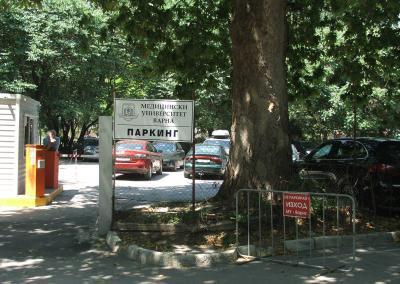 Parkplatz Medizinische Uni Varna