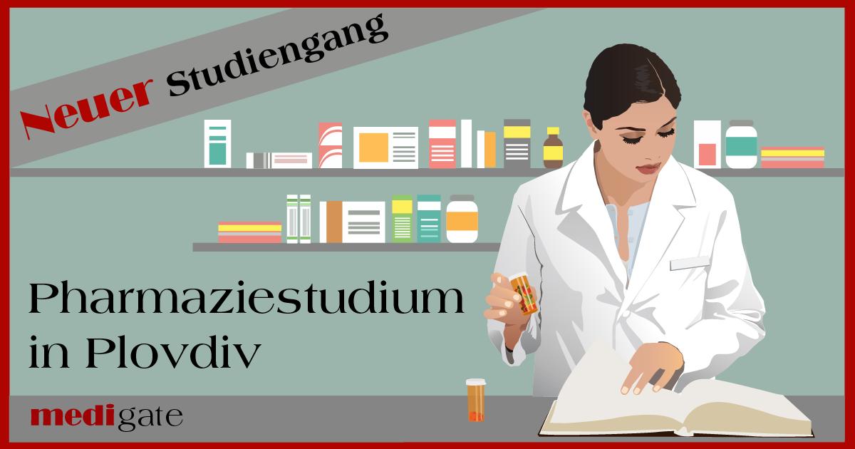Pharmazie an der MU Plovdiv